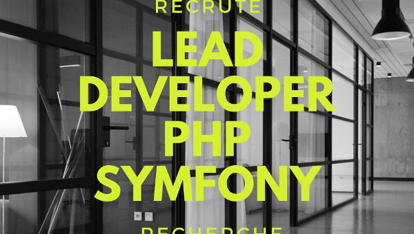 Lead Developer PHP Symfony